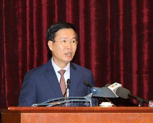 Tổng Bí thư, Chủ tịch nước Nguyễn Phú Trọng chủ trì Hội nghị gặp mặt cán bộ lãnh đạo cấp cao nghỉ hưu - Ảnh 9