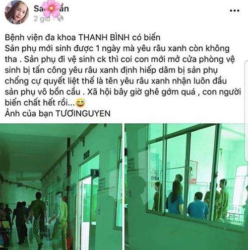 Vụ sản phụ bị tấn công tình dục trong nhà vệ sinh bệnh viện: Hé lộ lời khai của nghi phạm - Ảnh 1