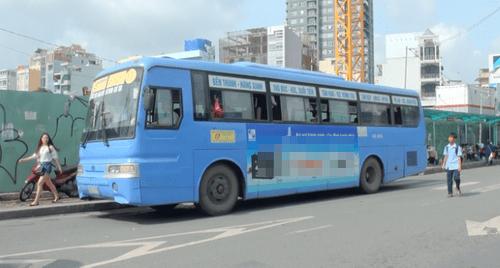"""TP.HCM: Đấu giá quảng cáo trên xe buýt để thu 135 tỷ/năm nguy cơ """"trắng tay"""" - Ảnh 1"""