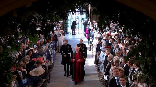 Những khoảnh khắc đẹp như mơ trong đám cưới cổ tích của Hoàng tử Harry - Ảnh 5