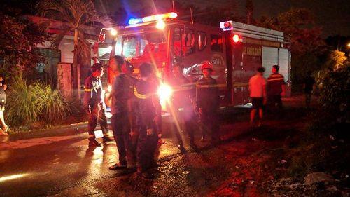 Bình Dương: Hỏa hoạn thiêu rụi hơn 1.000m2 nhà xưởng trong đêm - Ảnh 2