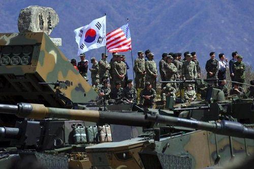 Mỹ, Hàn Quốc có thể tuyên bố ngừng tập trận chung trong tuần này - Ảnh 1