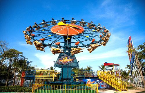 Thiên đường vui chơi giải trí bên bờ kỳ quan Tuần Châu - Hạ Long - Ảnh 2
