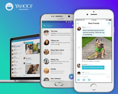 """""""Huyền thoại"""" Yahoo Messenger chính thức ngừng hoạt động ngày 17/7 - Ảnh 2"""
