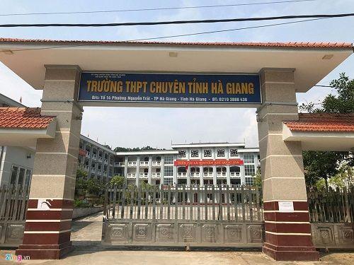 Giám đốc Sở GD&ĐT Hà Giang: 'Đang rà soát toàn bộ khâu chấm thi' - Ảnh 3