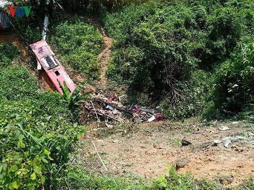 Hiện trường vụ xe khách lao xuống vực ở Cao Bằng khiến 4 người tử vong - Ảnh 4