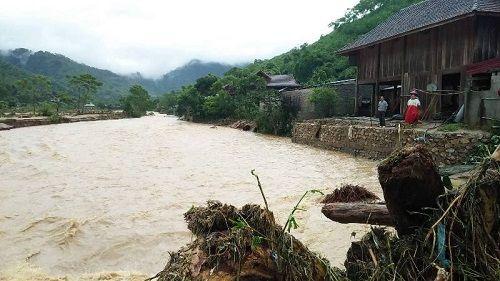 Xót xa khung cảnh nhà cửa tan hoang ở Nghệ An vì mưa lũ - Ảnh 8