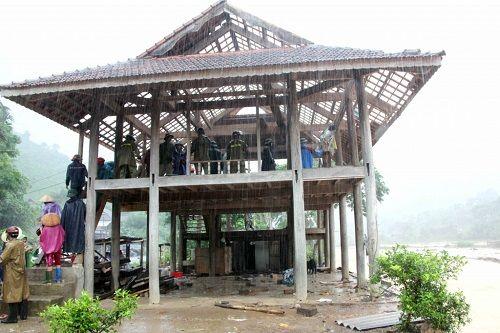 Xót xa khung cảnh nhà cửa tan hoang ở Nghệ An vì mưa lũ - Ảnh 6