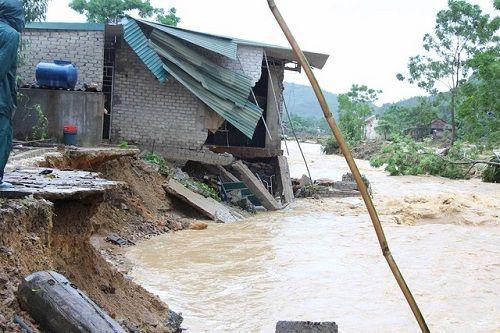 Xót xa khung cảnh nhà cửa tan hoang ở Nghệ An vì mưa lũ - Ảnh 9