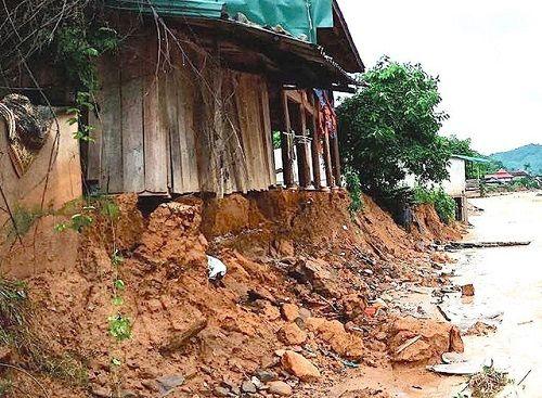 Xót xa khung cảnh nhà cửa tan hoang ở Nghệ An vì mưa lũ - Ảnh 5
