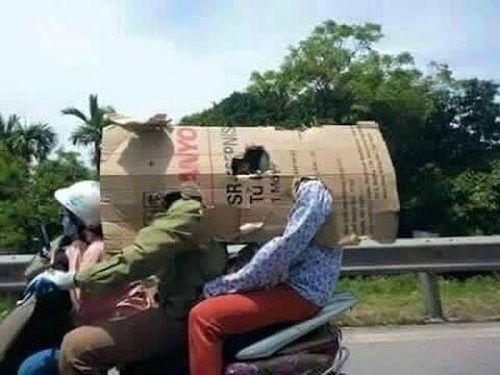 Chùm ảnh: Những cách chống nóng cười ra nước mắt của người Việt - Ảnh 3