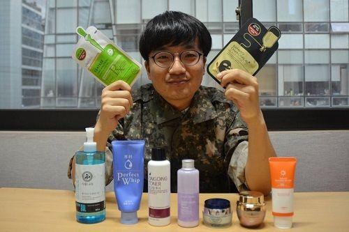 Cách chăm sóc da của binh sĩ Hàn Quốc - Ảnh 3