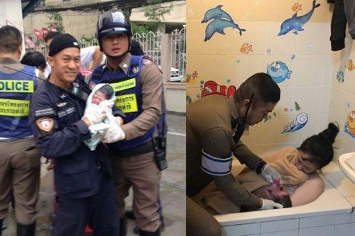 """Nam cảnh sát giao thông Thái Lan """"mát tay"""" đỡ đẻ cho 33 em bé vì nguyên nhân không ai ngờ - Ảnh 1"""