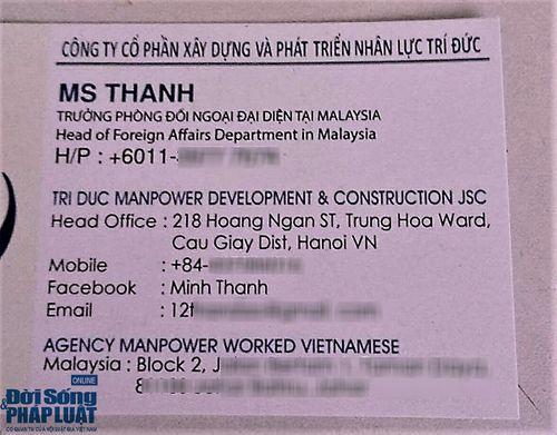 Vụ chủ nhóm từ thiện bị tố lừa đảo XKLĐ Malaysia: Nhiều dấu hiệu bất thường - Ảnh 4