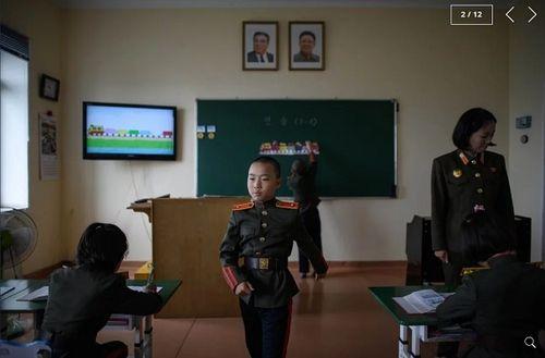 Chùm ảnh trường nam sinh tinh hoa của Triều Tiên khiến cả thế giới ngạc nhiên - Ảnh 2