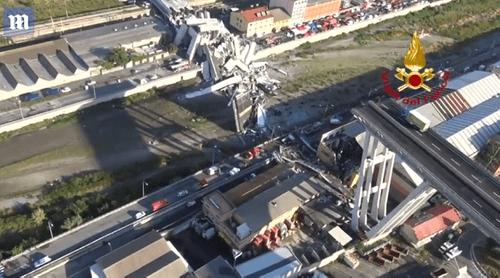 Chuyên gia phân tích nguyên nhân gây ra vụ sập cầu thảm khốc tại Ý - Ảnh 1