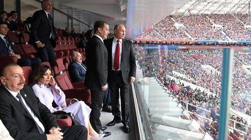 Tổng thống Putin ghi bàn thắng ngoại giao quan trọng trong kỳ World Cup - Ảnh 2