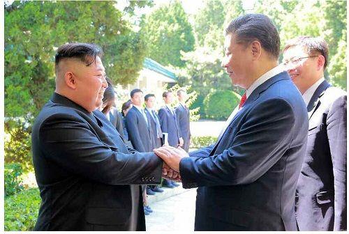 Truyền thông Triều Tiên: Ông Kim Jong-un thảo luận về hợp tác chiến lược với Trung Quốc - Ảnh 1
