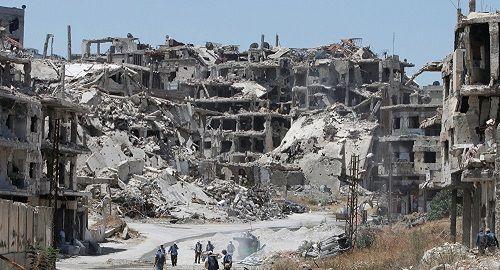 Quân đội chính phủ Syria phát hiện mạng lưới đường hầm cất giấu vũ khí của khủng bố - Ảnh 1