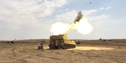 Mỹ bí mật thành lập căn cứ ở biên giới Iraq, nã đạn pháo vào khủng bố IS ở Syria  - Ảnh 1