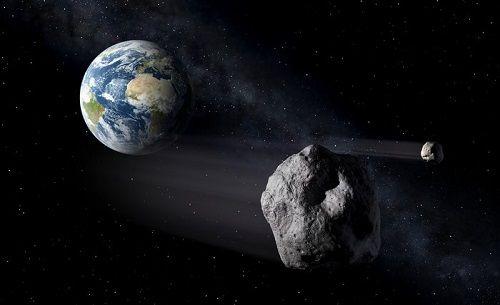 Tồn tại rất nhiều Mặt trăng nhỏ xoay xung quanh Trái đất. Ảnh: ESA