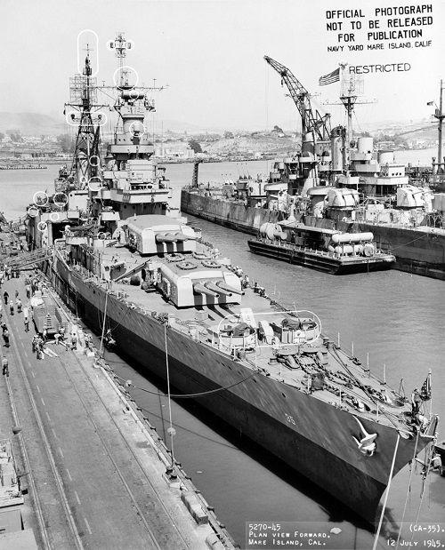 Số phận bi thảm của chiến hạm chở bom hạt nhân Mỹ tại hàm cá mập - Ảnh 9