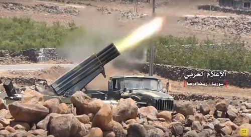 Quân đội Syria nã tên lửa vào thành trì cuối cùng của phiến quân ở Idlib - Ảnh 1