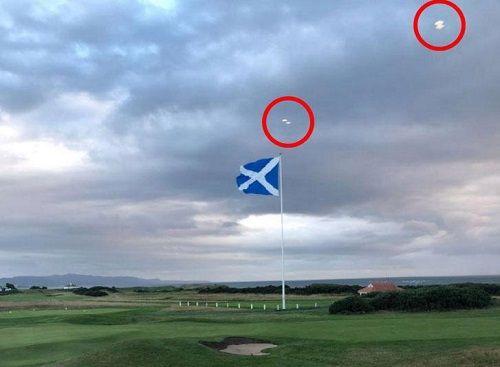 Xôn xao chuyện UFO xuất hiện gần sân golf của Tổng thống Trump - Ảnh 2