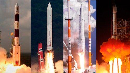 Những cuộc chạy đua vũ trụ ở châu Á - Ảnh 1
