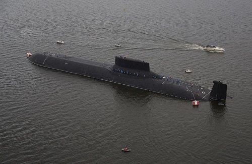 Sức mạnh 'quái vật' Akula của Nga: Tàu ngầm siêu lớn, chứa 192 đầu đạn hạt nhân  - Ảnh 1
