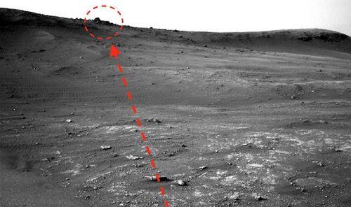 Phát hiện ngôi đền cổ trên sao Hỏa chứng minh sự tồn tại của nền văn minh ngoài hành tinh?  - Ảnh 1