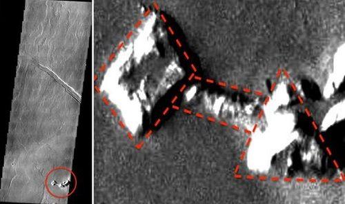 Thêm bằng chứng về căn cứ của người ngoài hành tinh trên sao Hoả? - Ảnh 1