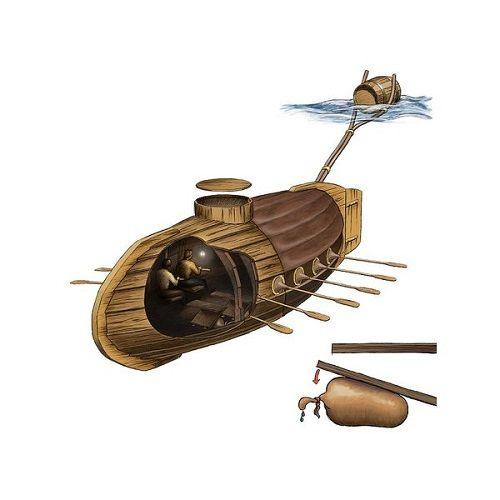 Lịch sử phát triển khiến tàu ngầm trở thành siêu vũ khí với sức mạnh áp đảo (Kỳ 1) - Ảnh 2