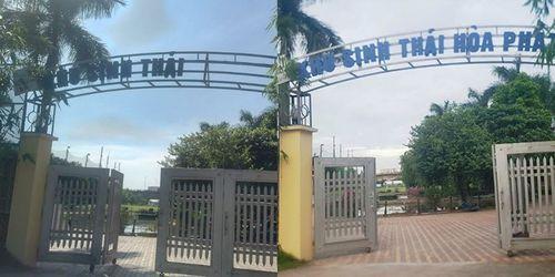 """Khu sinh thái Hòa Phát có phải """"vùng cấm"""" của phường Long Biên? - Ảnh 1"""