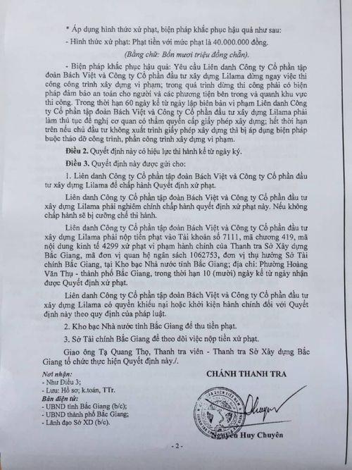 Bắc Giang: Mức xử phạt chung cư Bách Việt Areca Garden có đủ sức răn đe? - Ảnh 4
