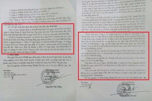 Vụ PTSC Thanh Hóa cho thuê đất trái pháp luật: Chưa báo cáo kết quả về Tổng cục Quản lý đất đai?  - Ảnh 1