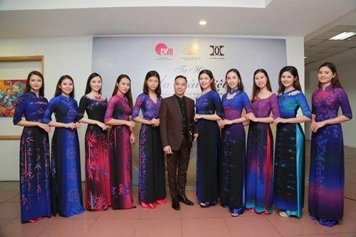 Văn hóa Việt gây ấn tượng trên những tà áo dài ngàn đô - Ảnh 1