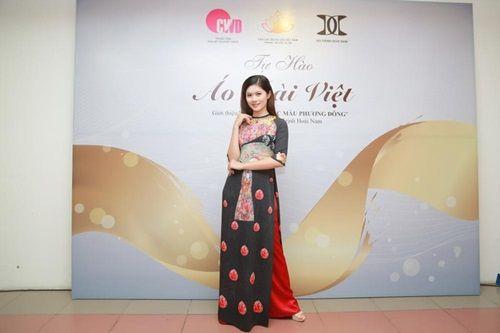 Văn hóa Việt gây ấn tượng trên những tà áo dài ngàn đô - Ảnh 9