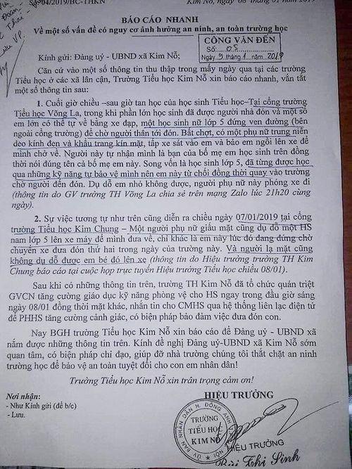 Hà Nội: Hoang mang trước tin trẻ em bị dụ dỗ ngay trước cổng trường - Ảnh 3