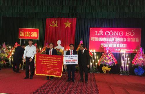 Xã Các Sơn, huyện Tĩnh Gia, tỉnh Thanh Hóa: Đạt chuẩn Quốc Gia về nông thôn mới - Ảnh 1