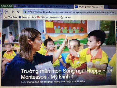 """MN Happy Feet Montessori Nam Từ Liêm hoạt động """"chui"""": PGD đình chỉ hoạt động để """"né"""" trách nhiệm? - Ảnh 3"""