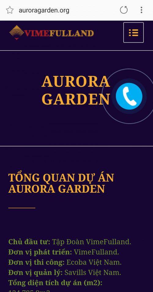 """Dự án Aurora Garden Tam Trinh: """"Mập mờ"""" chủ đầu tư, rao bán nhà khi chỉ là bãi đất trống? - Ảnh 1"""