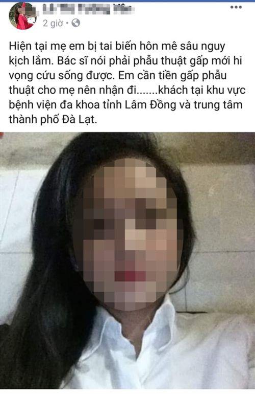 Hot girl bán thân cứu mẹ: Chiêu trò câu view hay âm mưu lừa tiền mạnh thường quân? - Ảnh 1