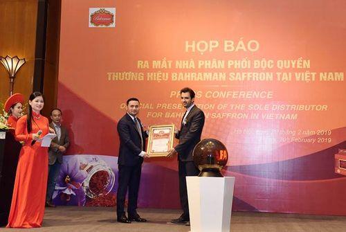Ra mắt nhà phân phối độc quyền thương hiệu Nhụy hoa Nghệ Tây Baharaman tại Việt Nam - Ảnh 4