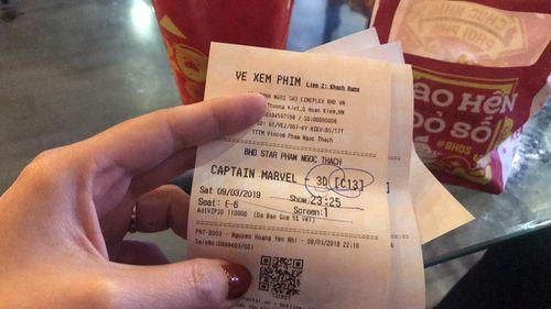 Hà Nội: Khách phản ánh chất lượng phim Captian Marvel kém, quản lý rạp cao giọng thách thức - Ảnh 1