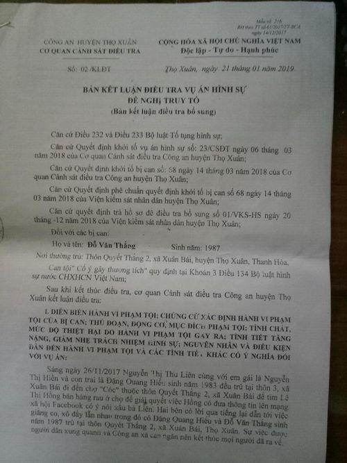 Luật sư phân tích vụ phòng vệ quá giới hạn bị truy tố ở Thọ Xuân (Thanh Hóa) - Ảnh 2