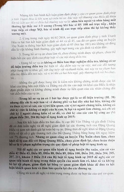 Luật sư phân tích vụ phòng vệ quá giới hạn bị truy tố ở Thọ Xuân (Thanh Hóa) - Ảnh 5