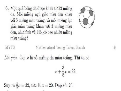 """Đề thi MYTS của Hội Toán học Việt Nam """"sao chép"""" theo đề thi quốc tế? - Ảnh 3"""
