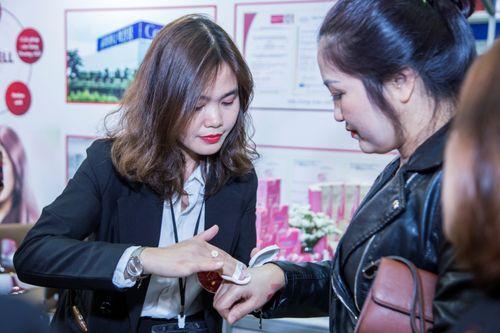 Thương hiệu mỹ phẩm Edally – Coréana hút khách trong ngày đầu của triển lãm Inter Beauty Vietnam - Ảnh 3