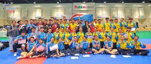 Giải vô địch Karatedo Đông Nam Á 2019: Đội tuyển Việt Nam tạm dẫn đầu sau 2 ngày thi đấu - Ảnh 1